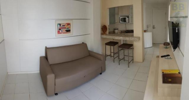 Flat para venda em natal, ponta negra, 1 dormitório, 1 banheiro, 1 vaga - Foto 4