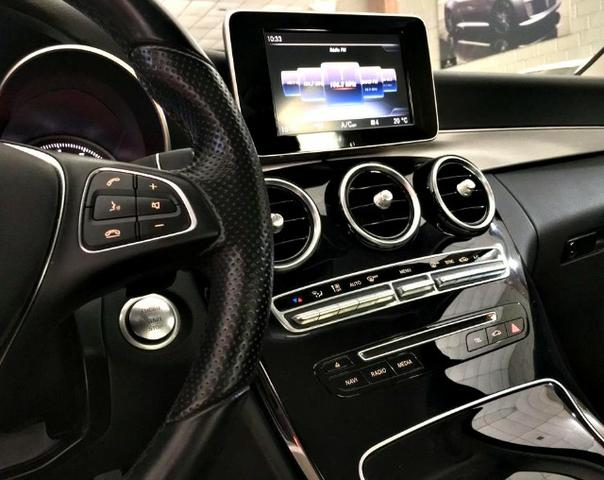 Mercedes Benz C-180 1.6 Avantgarde. Prata 2016/16 - Foto 9