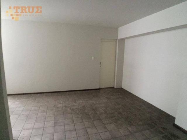Apartamento com 3 dormitórios para alugar, 95 m² por R$ 2.000,00/mês - Boa Viagem - Recife - Foto 7