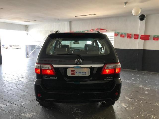 Toyota HILUX SW4 SRV D4-D 4x4 3.0 TDI DIESEL AT 2010 - Foto 9