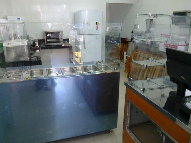 Balcão para açai, sorveteria e guloseimas, saladas, cubas refrigeradas, sushi - Foto 5