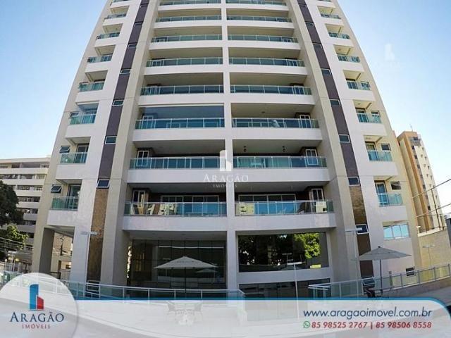 Apartamento com 3 dormitórios à venda, 121 m² por r$ 800.000,00 - aldeota - fortaleza/ce - Foto 2