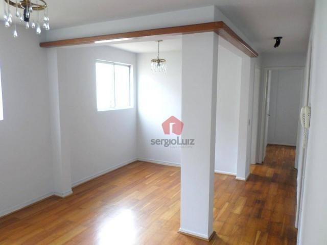 Apartamento com 02 dormitórios para locação no bairro Capão Raso - Curitiba/PR - Foto 2