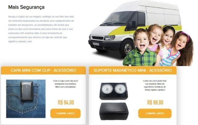 Rastreador portátil recarregável Autotrac Mini (Novo) - Foto 3