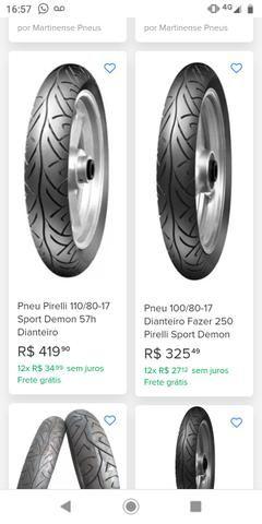Pneu Pirelli Sport Demon 110/80-17 - Foto 3