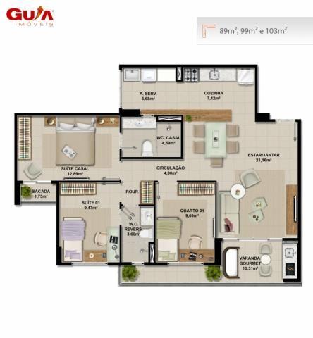 Apartamentos novos com 03 quartos a venda no cambeba - Foto 7