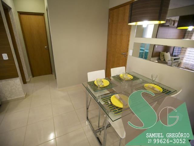 SAM - 04 - Condomínio Via Sol - 48m² - Entrada em até 48x - Serra, ES - Foto 3