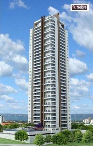 Apartamento com 4 dormitórios para alugar, 151 m² por r$ 3.805,00/mês - plano diretor sul  - Foto 2