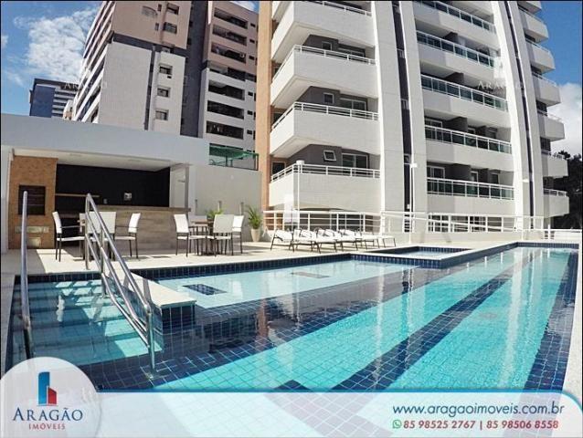 Apartamento com 3 suítes à venda, 94 m² por r$ 780.000 - aldeota (repasse de particular)