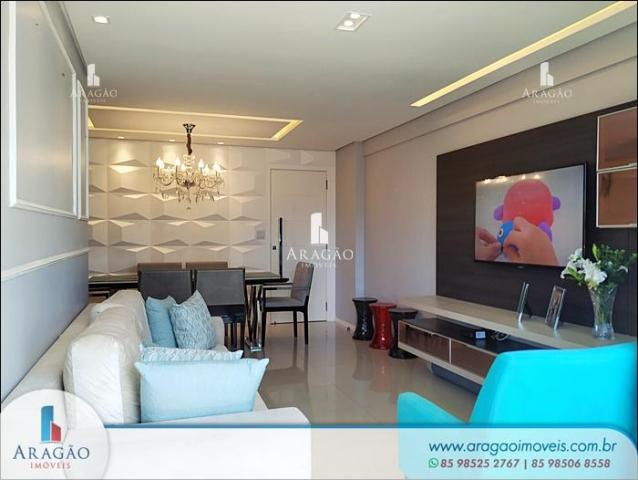 Apartamento à venda, 106 m² por r$ 850.000,00 - aldeota - fortaleza/ce - Foto 3