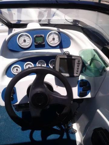 Lancha 19 Pes Motor Mercury Optimax 135HP 125 Horas - Foto 10