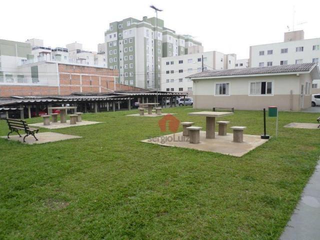 Apartamento com 02 dormitórios para locação no bairro Capão Raso - Curitiba/PR - Foto 10