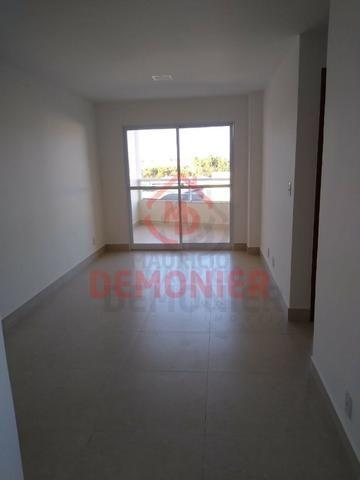 Alugo apartamento novo 2 quartos com suíte, 1 vaga, Campo Grande, com lazer - Foto 4