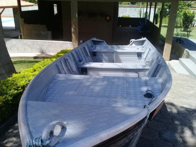 Barco de alumínio - Foto 4