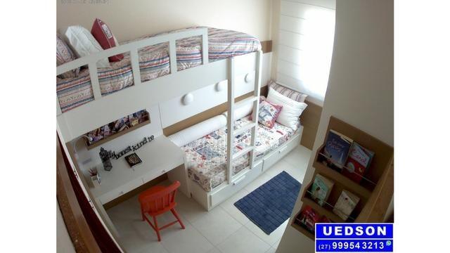 UED-53 - Apt° 3 quartos com suíte em colina de laranjeiras serra - Foto 8