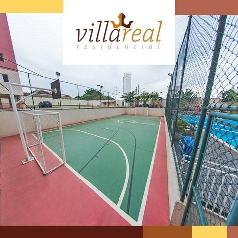 VillaReall Residencial Aptos 2 Dorms 58m2 2 Dorms 1 Vaga C/Varanda Lazer Completo - Foto 7