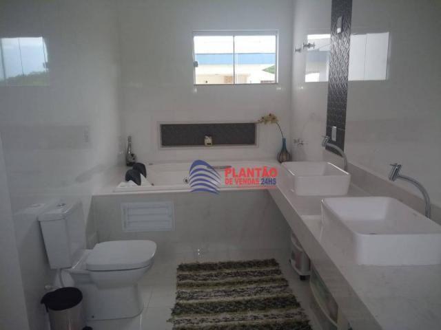 Linda casa linear com 4 quartos alto padrão no Viverde fase 2 - Foto 11