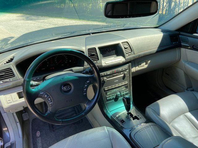 Kia Opirus 3.5 V6 Top Completo Blindado Imbra - Foto 16