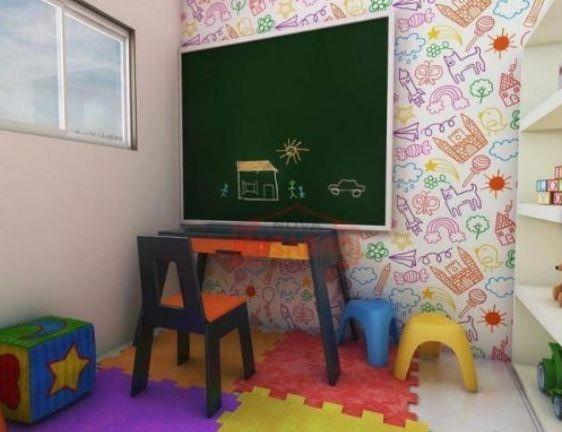 Apartamento 2 dormitórios no Canto do Forte em Praia Grande - Foto 4