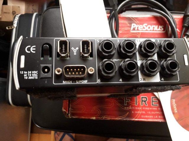 Interface Presonus Fire Box(FIRE) aceito brik - Foto 3