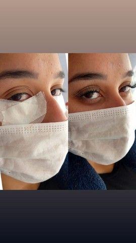 Designer de sobrancelhas Alongamento de cílios e makeup