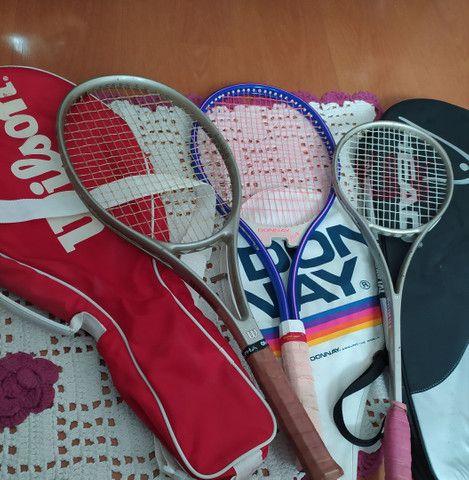 Raquetes originais Wilson pequena, grande media - Foto 6