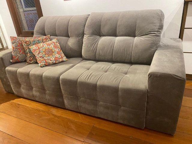 Sofá seminovo com chaise