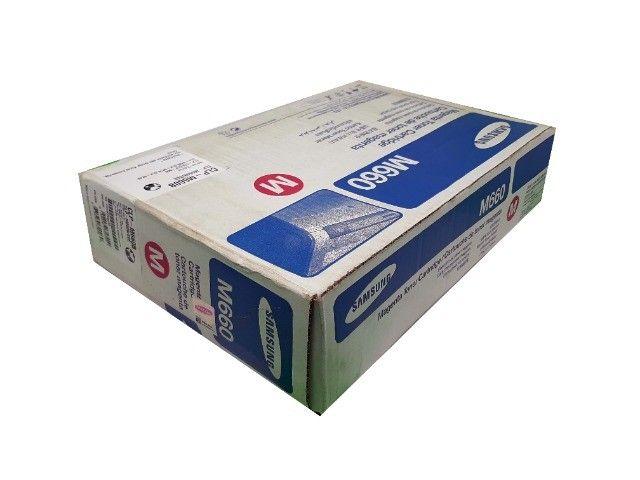 Toner Samsung CLP - M660B Magenta Original Novo - Foto 2