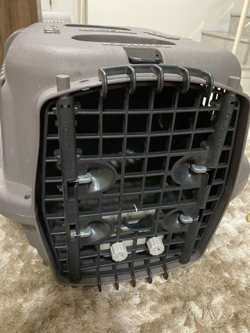 caixa de transporte de animais kennel cargo 4 plast pet