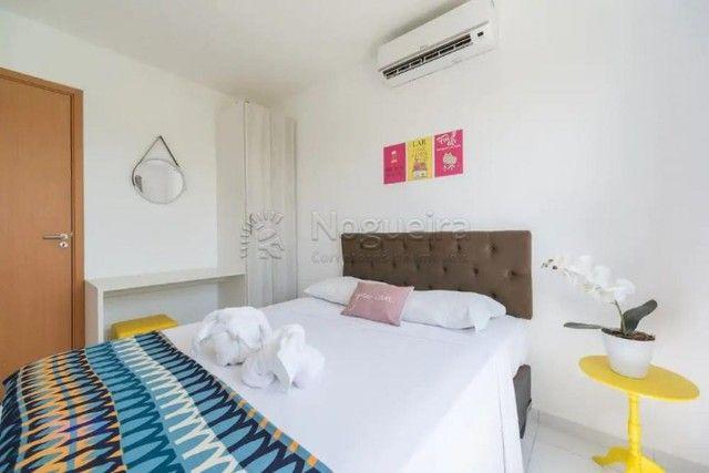 JO-Lindo apartamento mobiliado com 3/4 em Muro Alto - Foto 5
