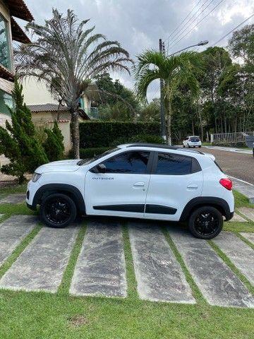 Renault Kwid Outsider 1,0 12V 2020 top de linha.  - Foto 7