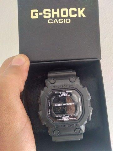 Relógio G-Shock DW5600 Preto fosco (estilo retrô)
