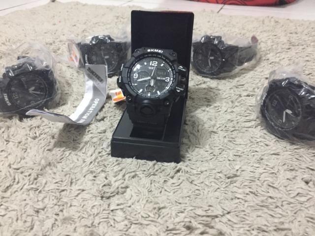 Relógio Masculino Skmei Prova D'água Original lacrado - Foto 3