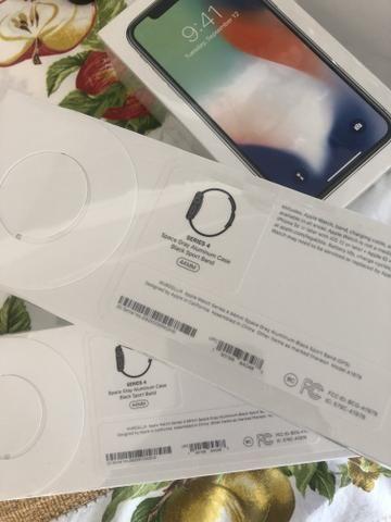 Relogio Series 4 44MM Novo! Em até 12x! Lacrado na caixa! Apple Watch Serie 4 44MM - Foto 5