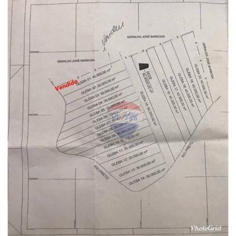 4 chácaras de 4 de hectares à venda por de r$ 320.000,00 cada em unaí/mg - Foto 9