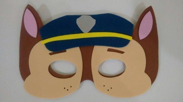 Fantasia Patrulha Canina Policial Chase Infantil com Mascara - Foto 5