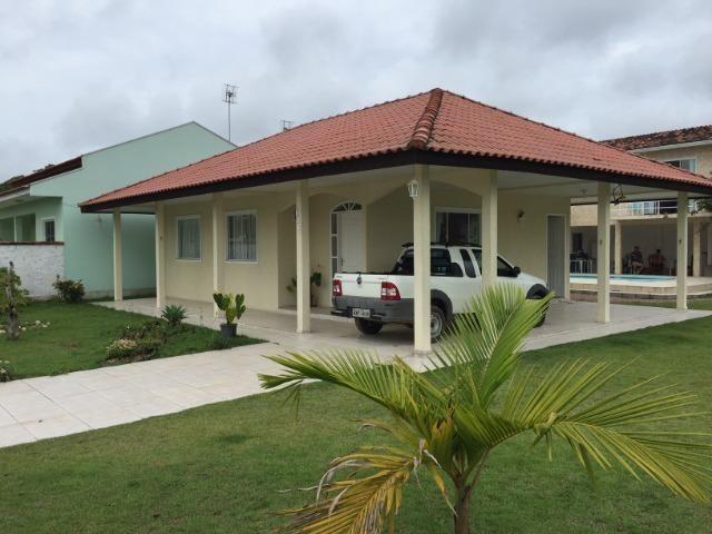 Linda Casa da Praia com Piscina 5 quartos em Itapoá- SC