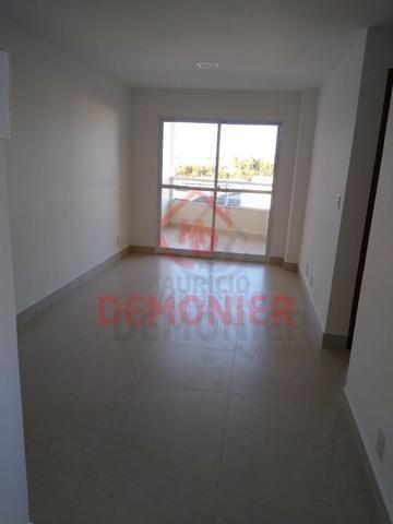 Alugo apartamento novo 2 quartos com suíte, 1 vaga, Campo Grande, com lazer - Foto 5