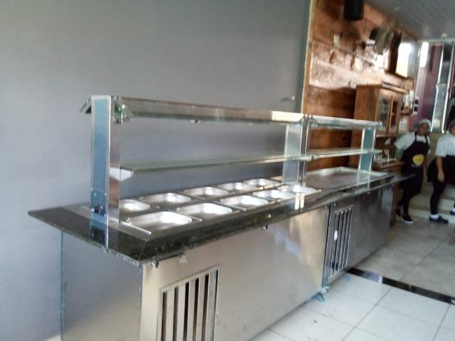 Self service, balcões, banho Maria e montagem de restaurante - Foto 4