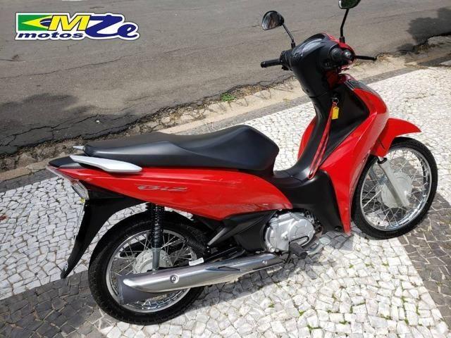 Honda Biz 110 I 2018 Vermelha com 5.000 km - Foto 8