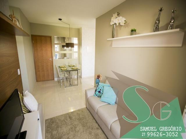 SAM - 04 - Condomínio Via Sol - 48m² - Entrada em até 48x - Serra, ES - Foto 5