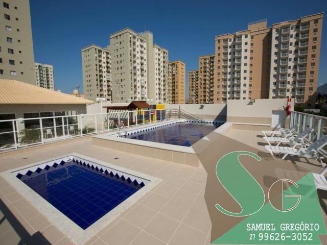 SAM - 04 - Condomínio Via Sol - 48m² - Entrada em até 48x - Serra, ES