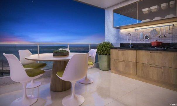 Em construção na Praia de Itapuã - Raridade: 03 quartos de 108 m2 privativos - Foto 3