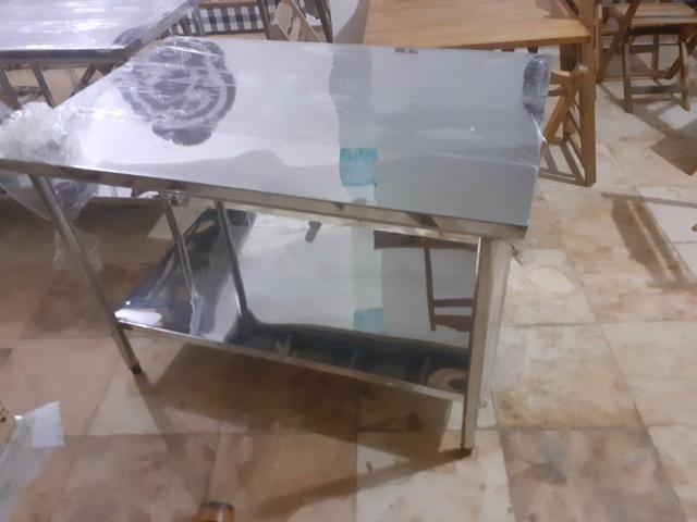 Mesa em aço inox a partir de r$ 600 - Foto 3