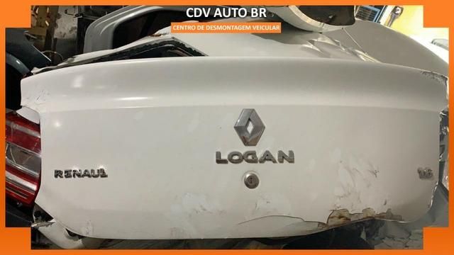 Sucata Renault Logan 1.6 16v 2019