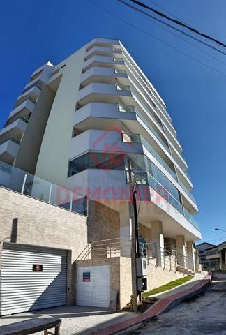 Alugo apartamento novo 2 quartos com suíte, 1 vaga, Campo Grande, com lazer - Foto 3