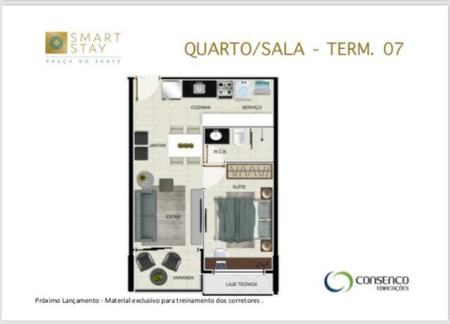 Smart Stay na Ponta Verde, Apartamentos Quarto/Sala em até 120 meses ! - Foto 4