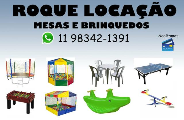 Locacao De Brinquedos E Mesas Servicos Jardim Helena Sao