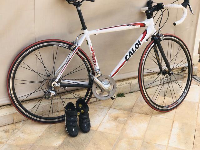 Oportunidade!!Speed Caloi sprint20 toda tiagra 20v tamanho 54 !bike extremamente nova !!!