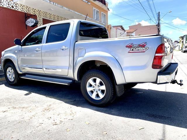 Toyota Hilux SR 15/15 pneus novos Completa!!! - Foto 5
